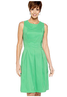 Kim Rogers Sleeveless Fit and Flare Dress
