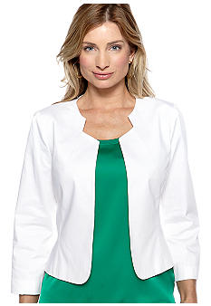 New Directions Long-Sleeved Sleeved Jacket Shrug