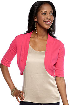New Directions Three-Quarter Sleeved Bolero