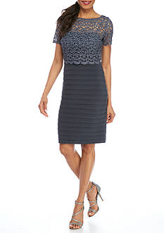 Grey Cocktail Dress Belk