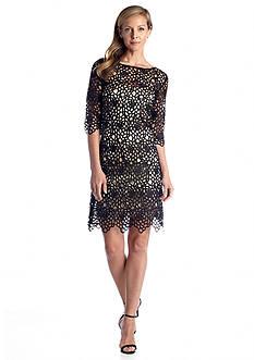 JAX Allover Lace Sheath Dress