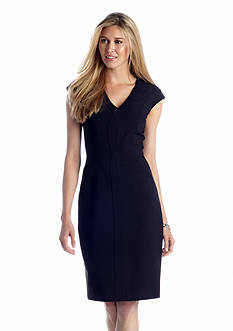 Maggy London Cap Sleeve Sheath Dress