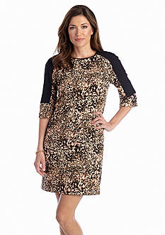Maggy London Printed Shift Dress