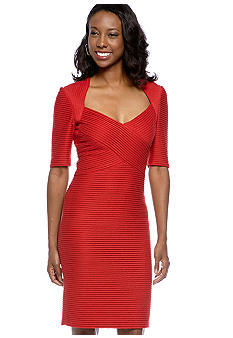 Maggy London Petite Texture Knit Sheath Dress