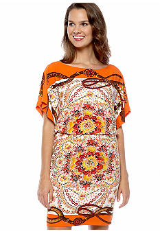 Maggy London Printed Matte Jersey Dress