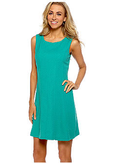 Taylor Seamed Fit and Flare Dress