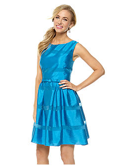 Taylor Sleeveless Fit and Flare Party Dress