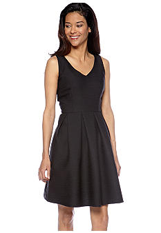 Taylor Sleeveless Fit and Flare Dress