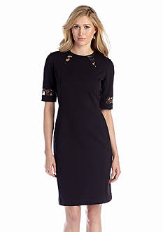 Taylor Elbow Sleeve Sheath Dress