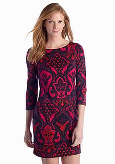 Taylor Printed Shift Dress