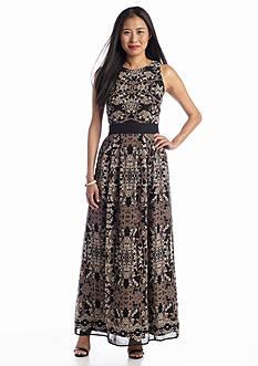 Taylor Sleeveless Printed Maxi Dress