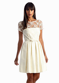 Taylor Fit and Flare Lace Dress