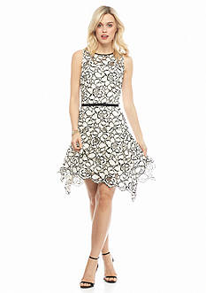 Taylor Lace Fit and Flare Dress