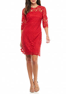 Taylor Lace Sheath Dress