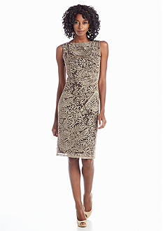 Anne Klein All-Over Lace Sheath Dress