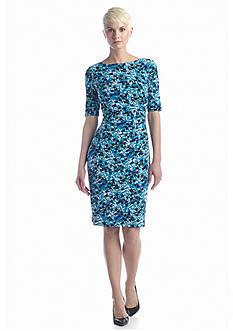 Anne Klein Printed Sheath Dress