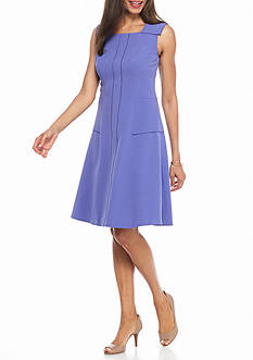 Anne Klein Sleeveless Fit and Flare Dress