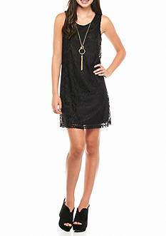 Byer California Lace Shift Dress