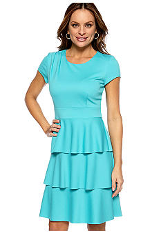 Spense Petite Ponte Dress