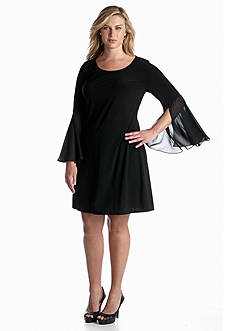 MSK Plus Size Shift Dress