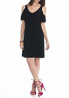 MSK Cold Shoulder Dress