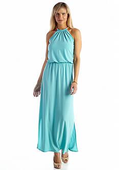 JBS Halter Maxi Dress