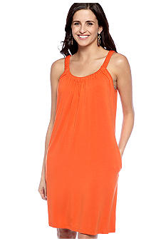 New Directions Sleeveless Shift Dress