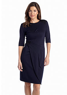 muse Elbow-Sleeve Sheath Dress
