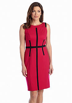 muse Color-block Sheath Dress