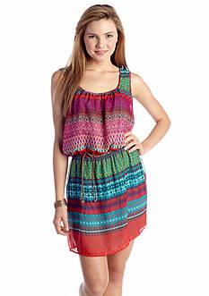 Speechless Tribal Printed Tank Dress