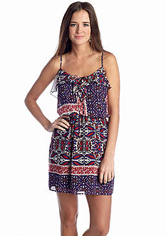 Speechless Bandana Print Dress