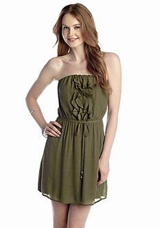 Speechless Ruffle Front Dress