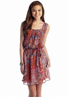 Speechless Paisley Tank Dress