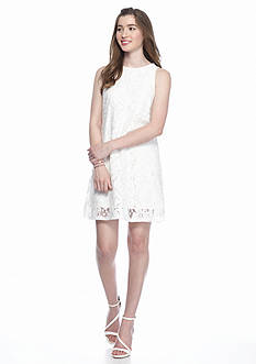 Speechless Daisy Lace Shift Dress