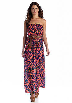 Almost Famous Printed Maxi Dress