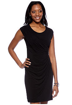 Tiana B Sleeveless Jersey Crepe Dress