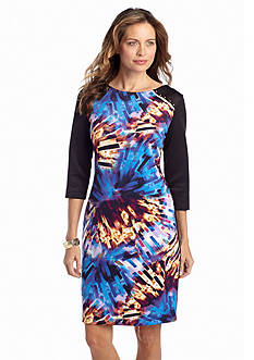 Tiana B Printed Sheath Dress