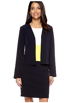 Tiana B Petite Long-Sleeved Jacket Dress