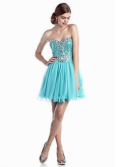 Blondie Nites Strapless Party Dress