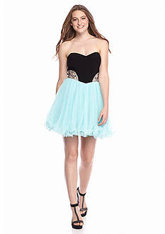 Blondie Nites Strapless Dress