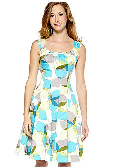 New Directions® Sleeveless Fit and Flare Dress