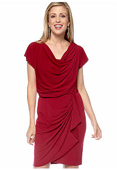Suzi CHIN - maggy boutique Matte Jersey Draped Dress