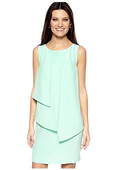 Suzi CHIN - maggy boutique Sleeveless Layered Sheath Dress