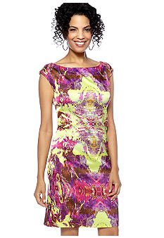 Suzi CHIN - maggy boutique Sleeveless Printed Shift Dress