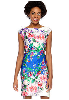 Suzi CHIN - maggy boutique Sleeveless Floral Sheath Dress