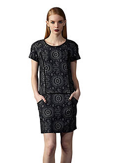 Ivy & Blu/maggy boutique Paisley Printed Shift Dress