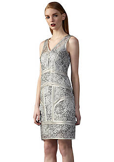 Ivy & Blu/maggy boutique Sleeveless printed sheath Dress