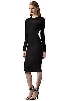 Ivy & Blu/maggy boutique Long Sleeve Midi Sheath Dress
