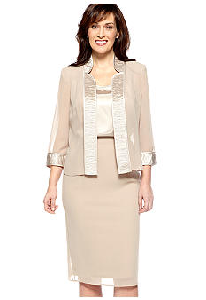 Dana Kay Three Piece Jacket and Skirt Set