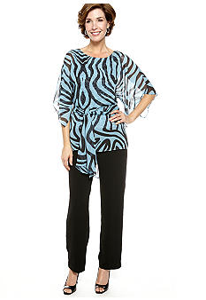 Dana Kay Dolman-Sleeved Two Piece Pant Set